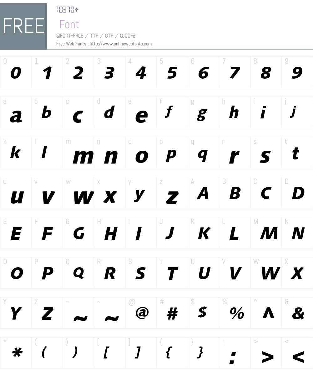 LinotypeSyntax Font Screenshots