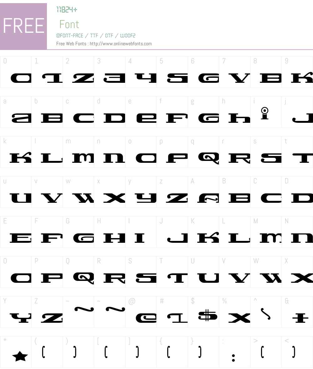 Lemonade Font Screenshots