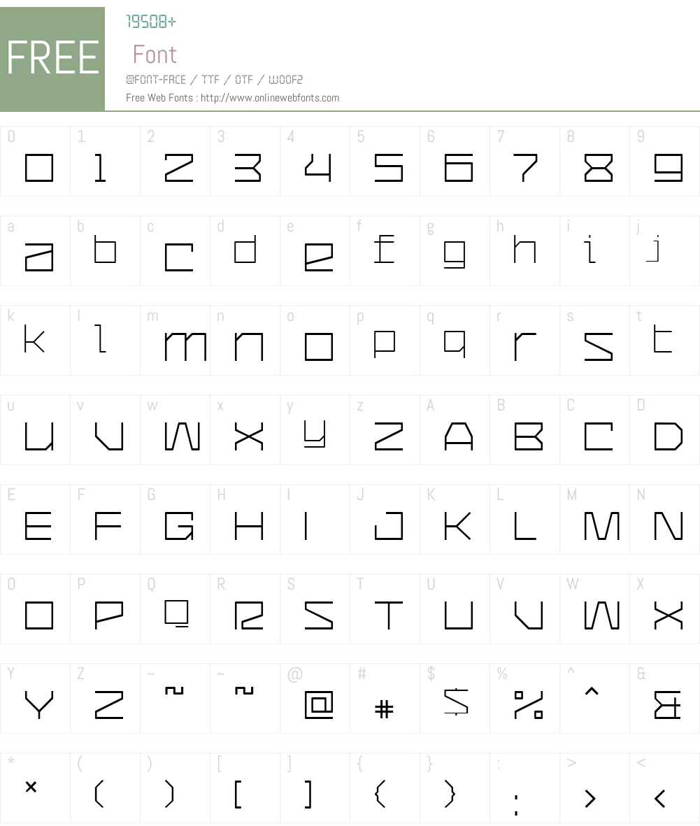 CommunityService Font Screenshots