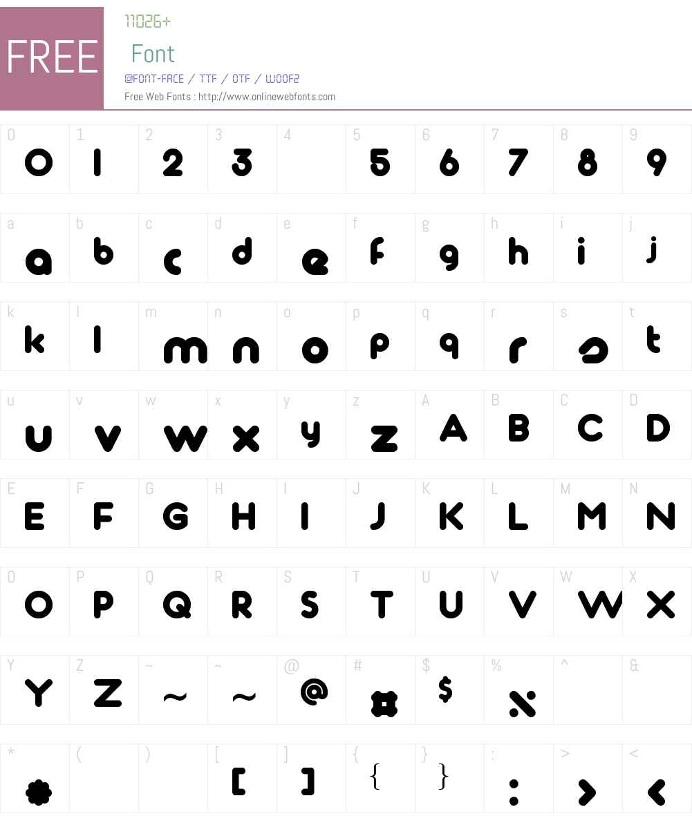 Tondo Font Screenshots