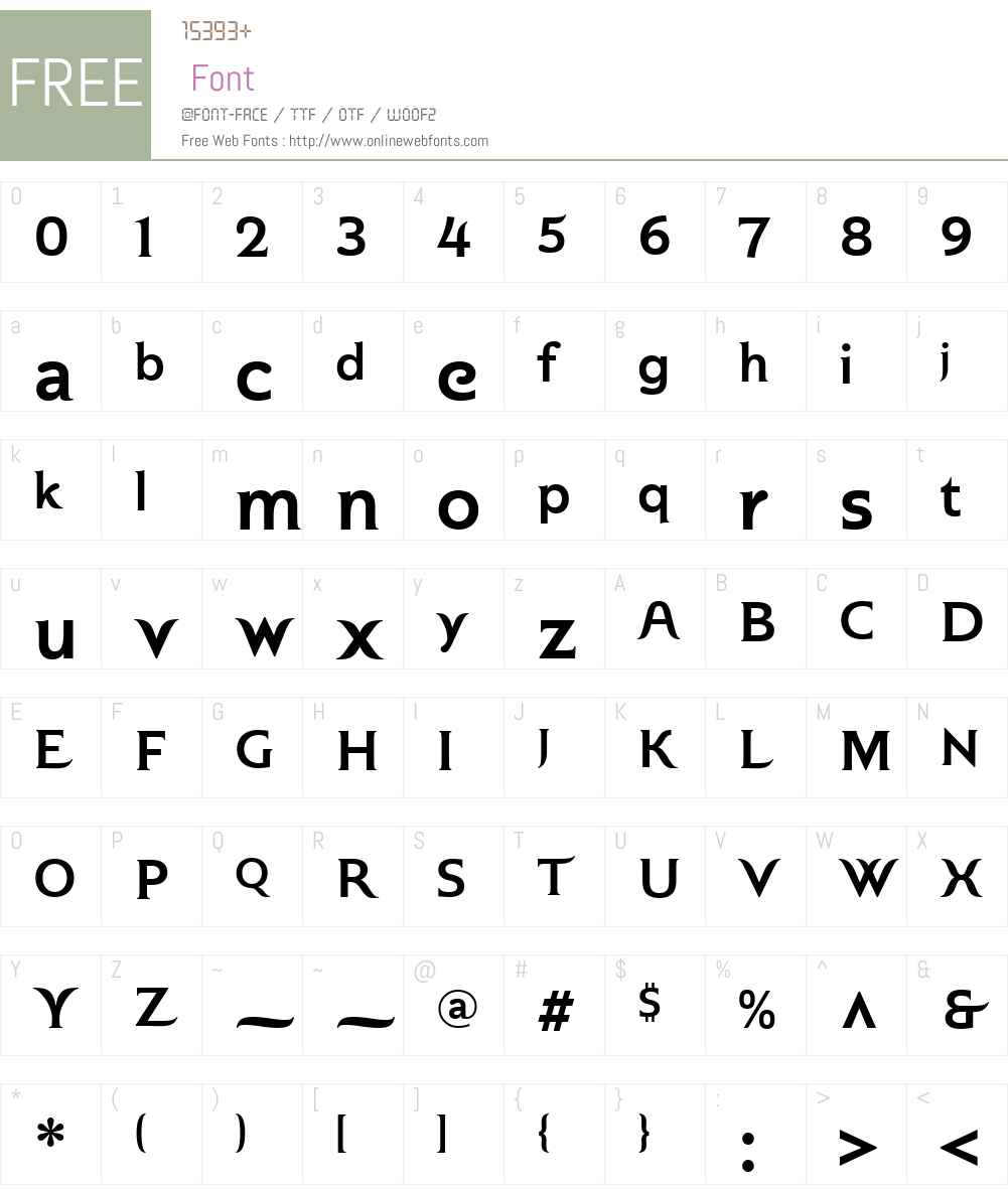 Plastilin Font Screenshots