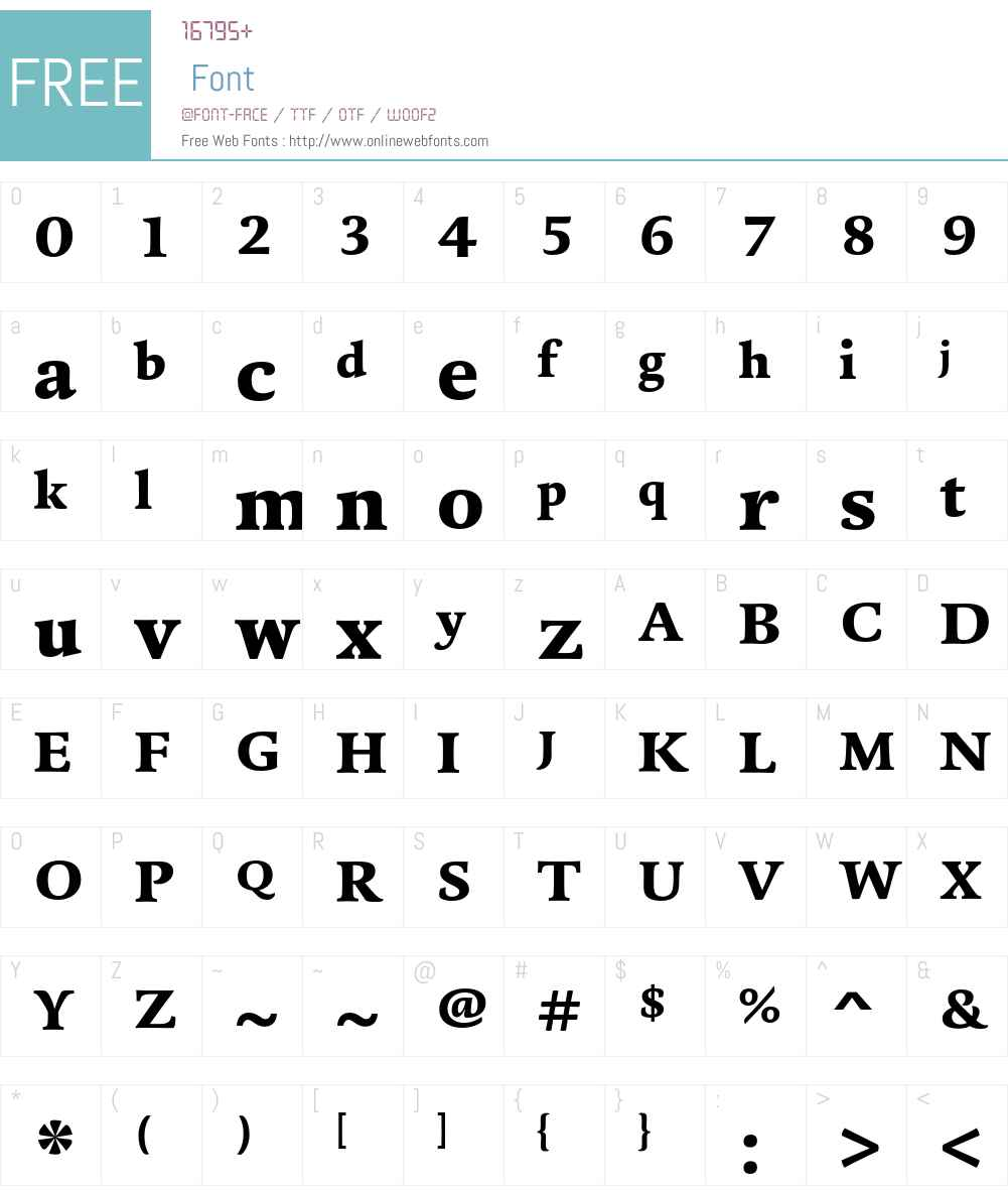 DTLDorianT Font Screenshots