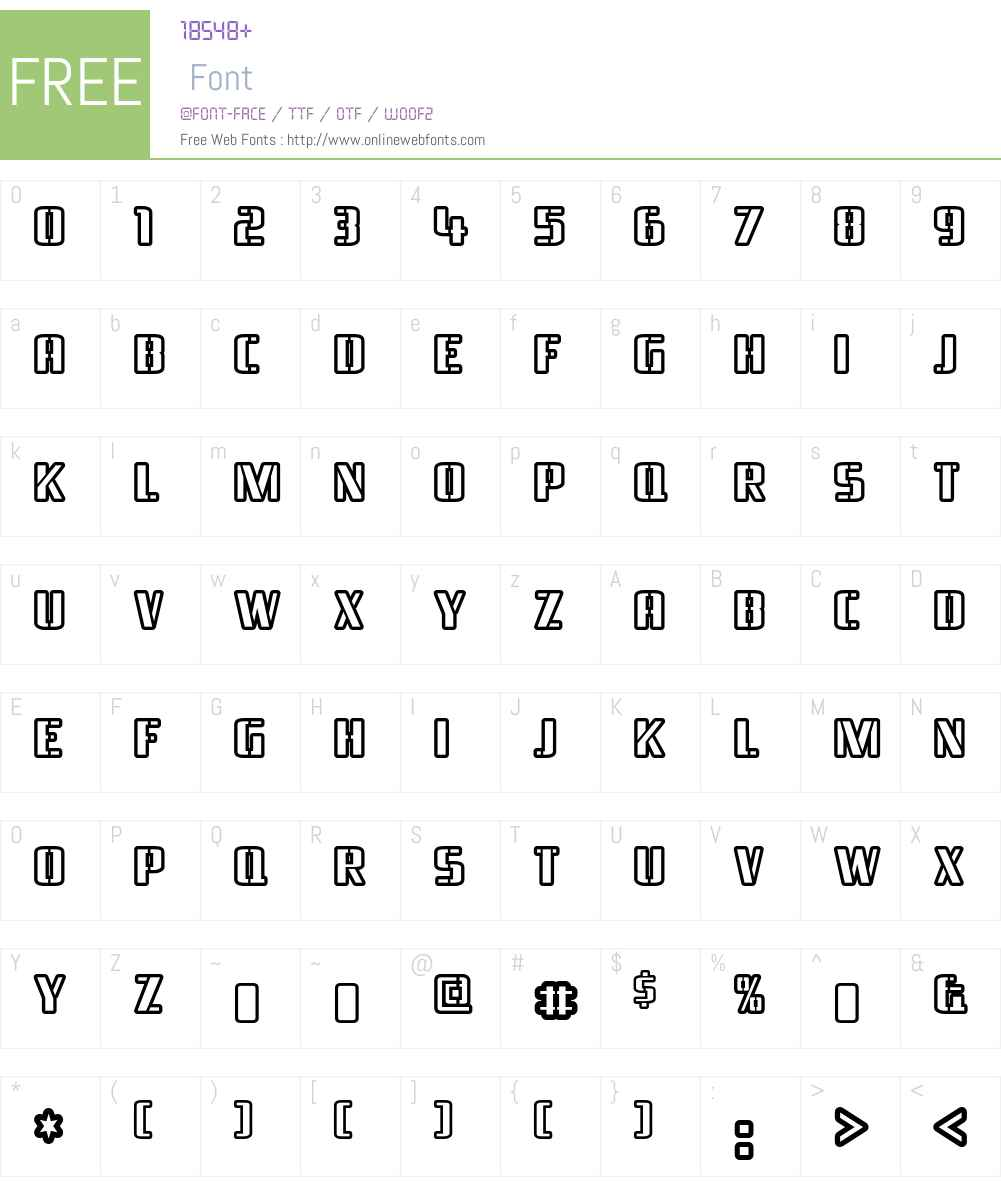 Braeside Font Screenshots