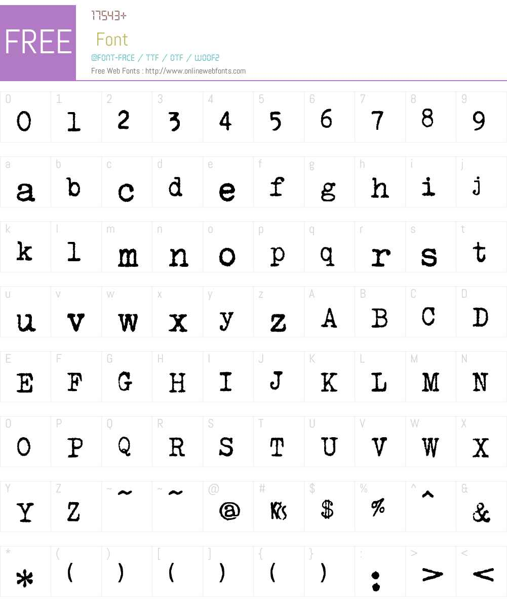 urania_czech Font Screenshots