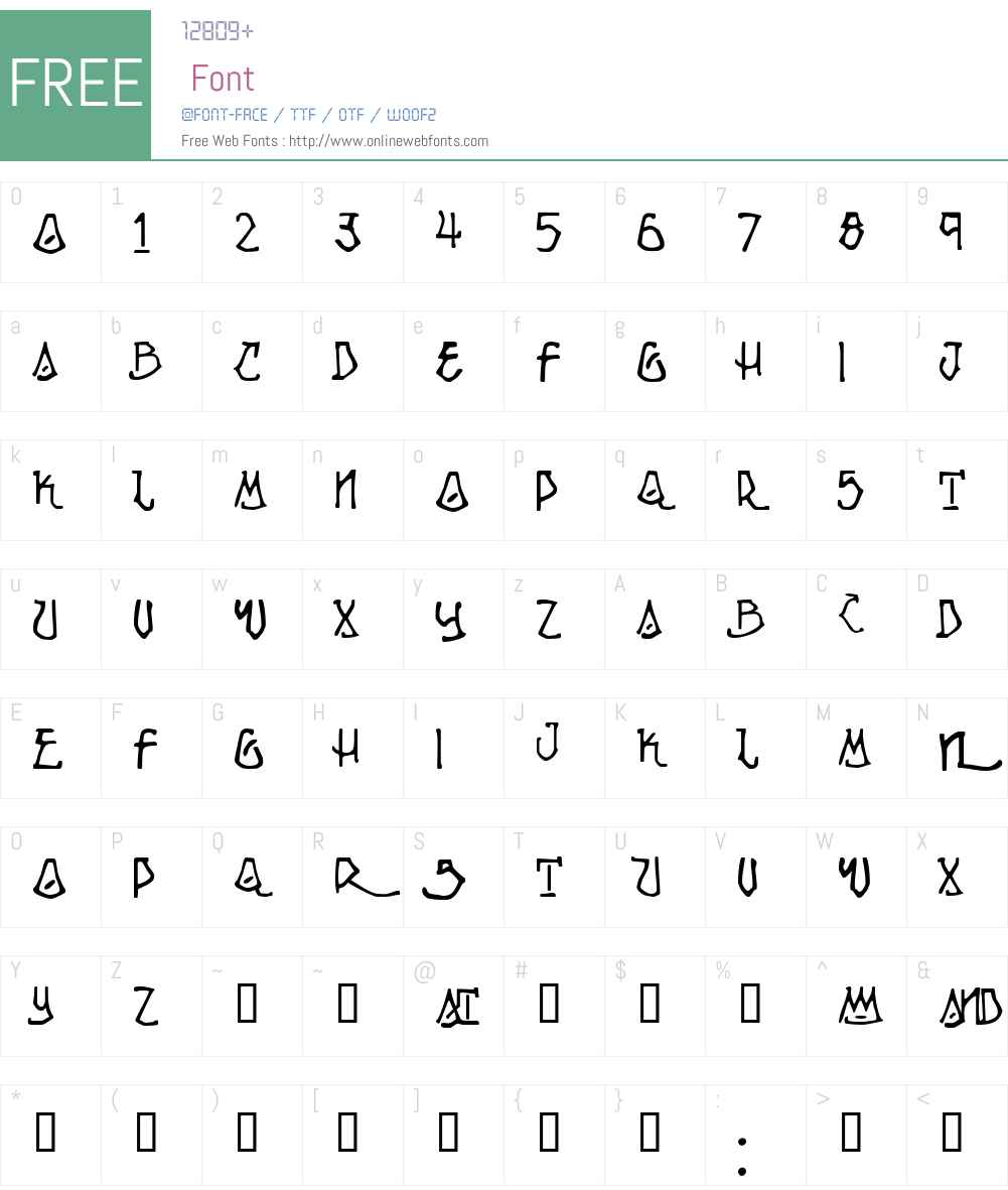 Ripple Font Screenshots