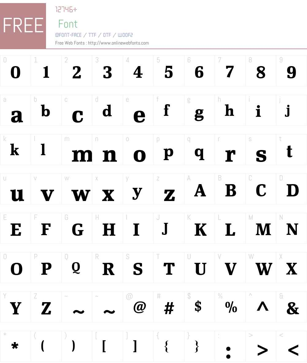Scherzo Std Font Screenshots