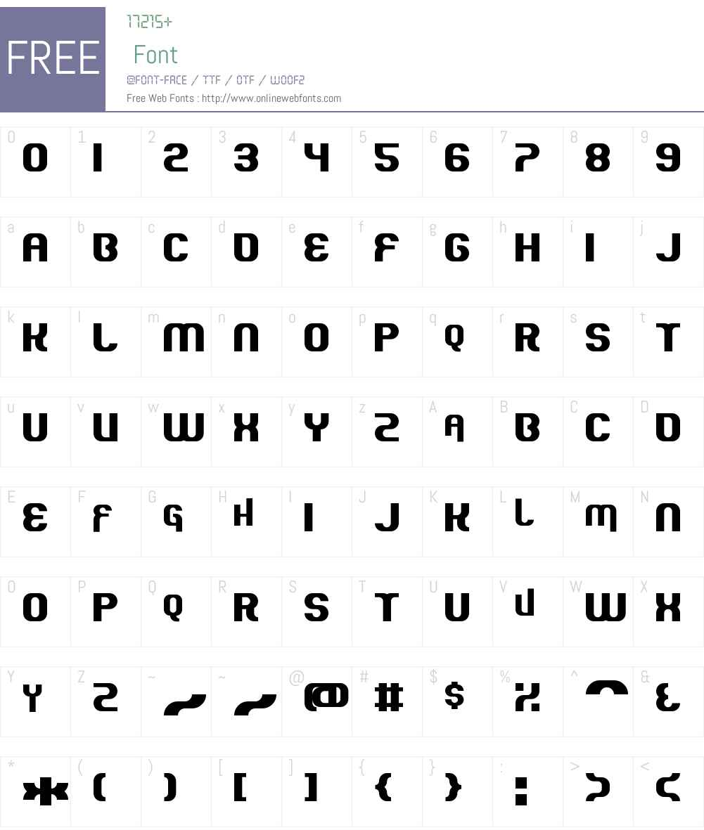 Quous Inno Font Screenshots