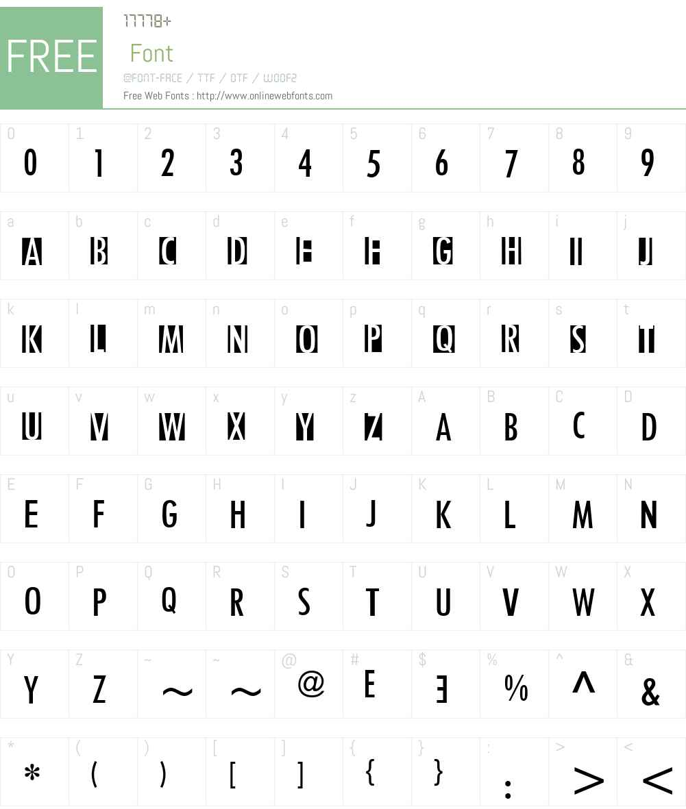 the#VNT Font Screenshots
