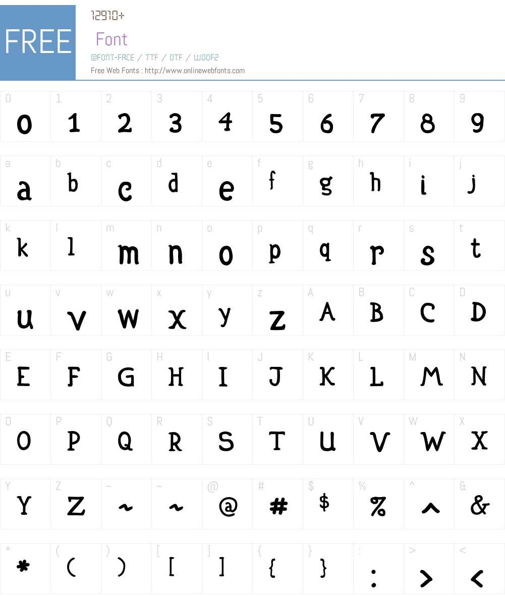 P22Escher Font Screenshots