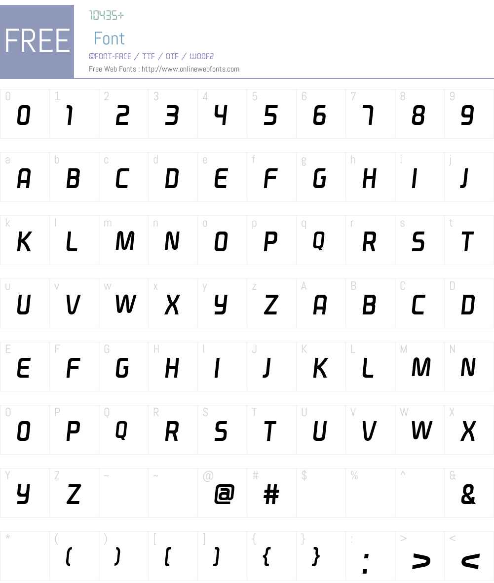 NFLNSwagger Font Screenshots