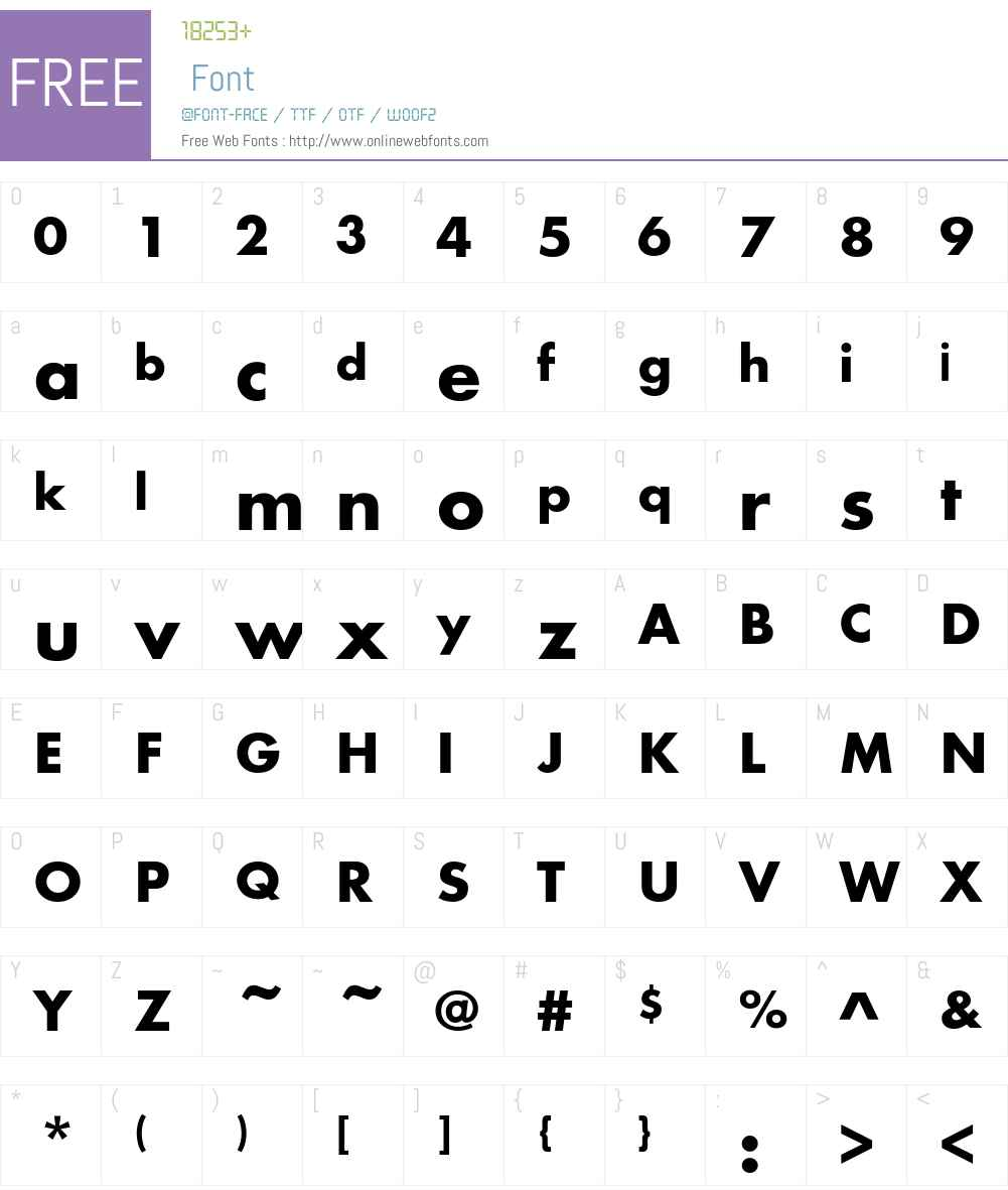 Noisee Font Screenshots
