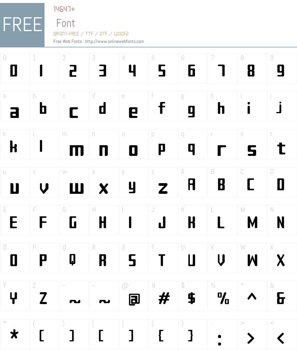Sujeta Font Screenshots