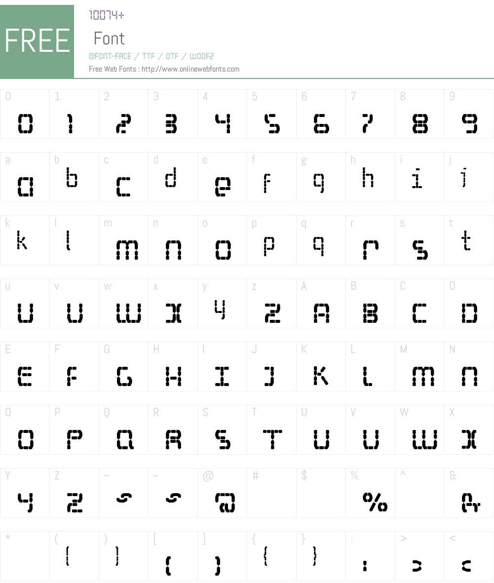 S Selfism Font Screenshots