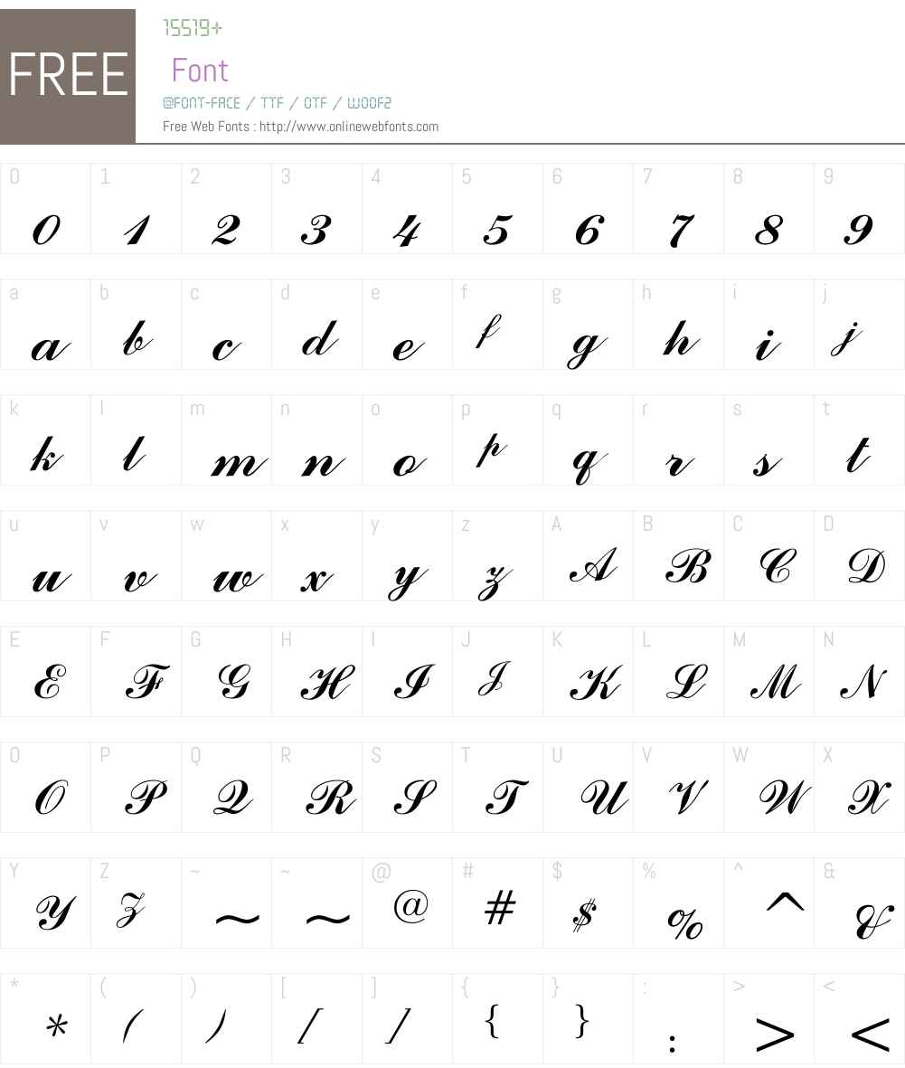 Asir Sulus Font Screenshots