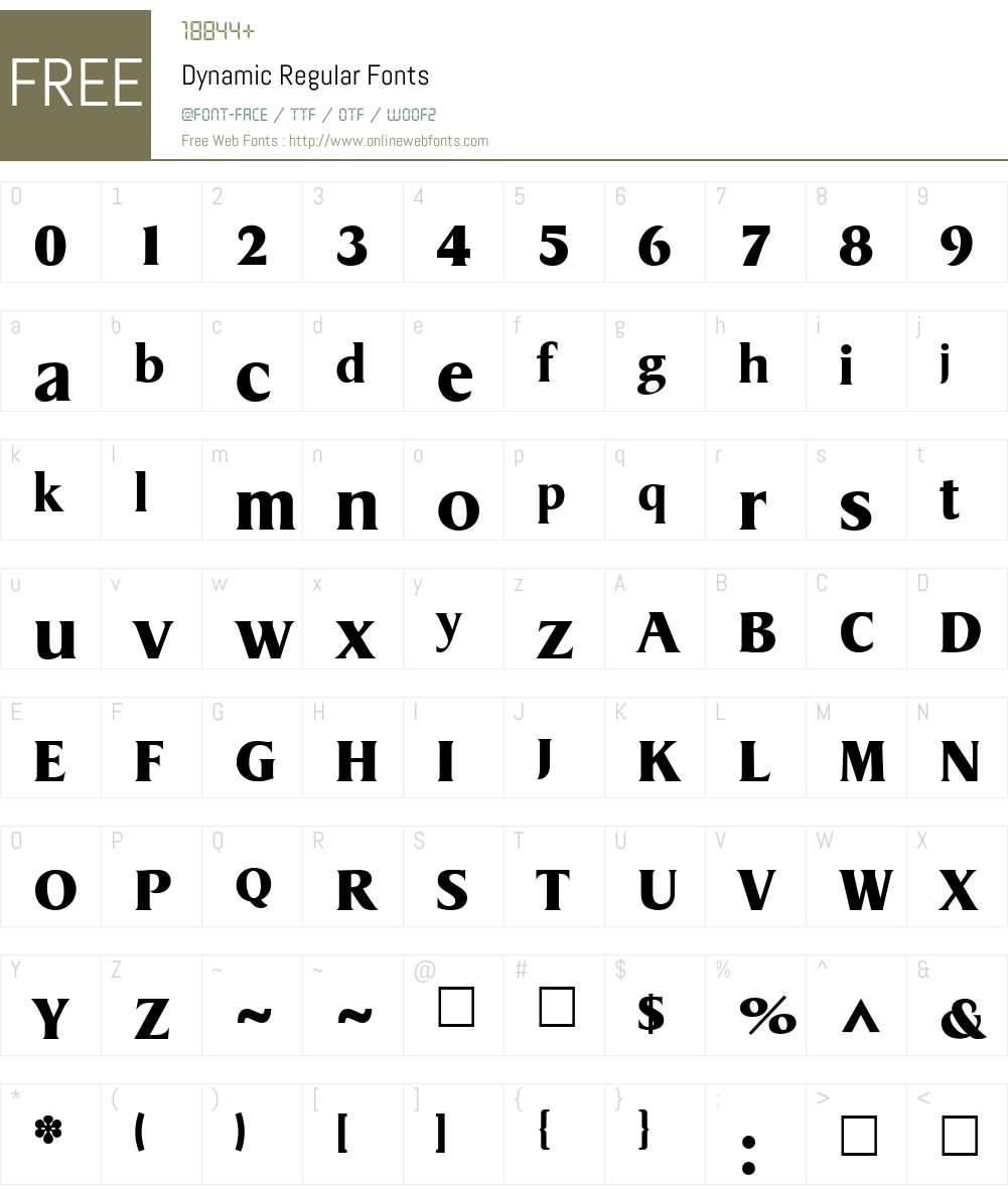 Dynamic Font Screenshots