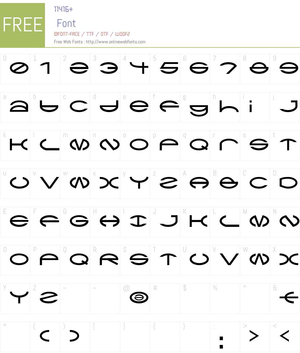 CType AOE Font Screenshots