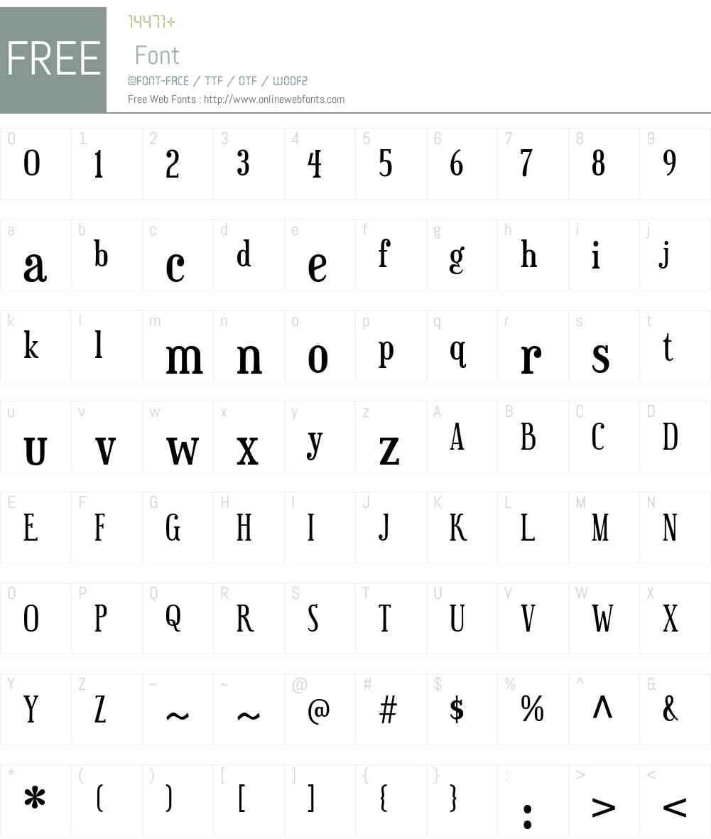 Euphorigenic Font Screenshots