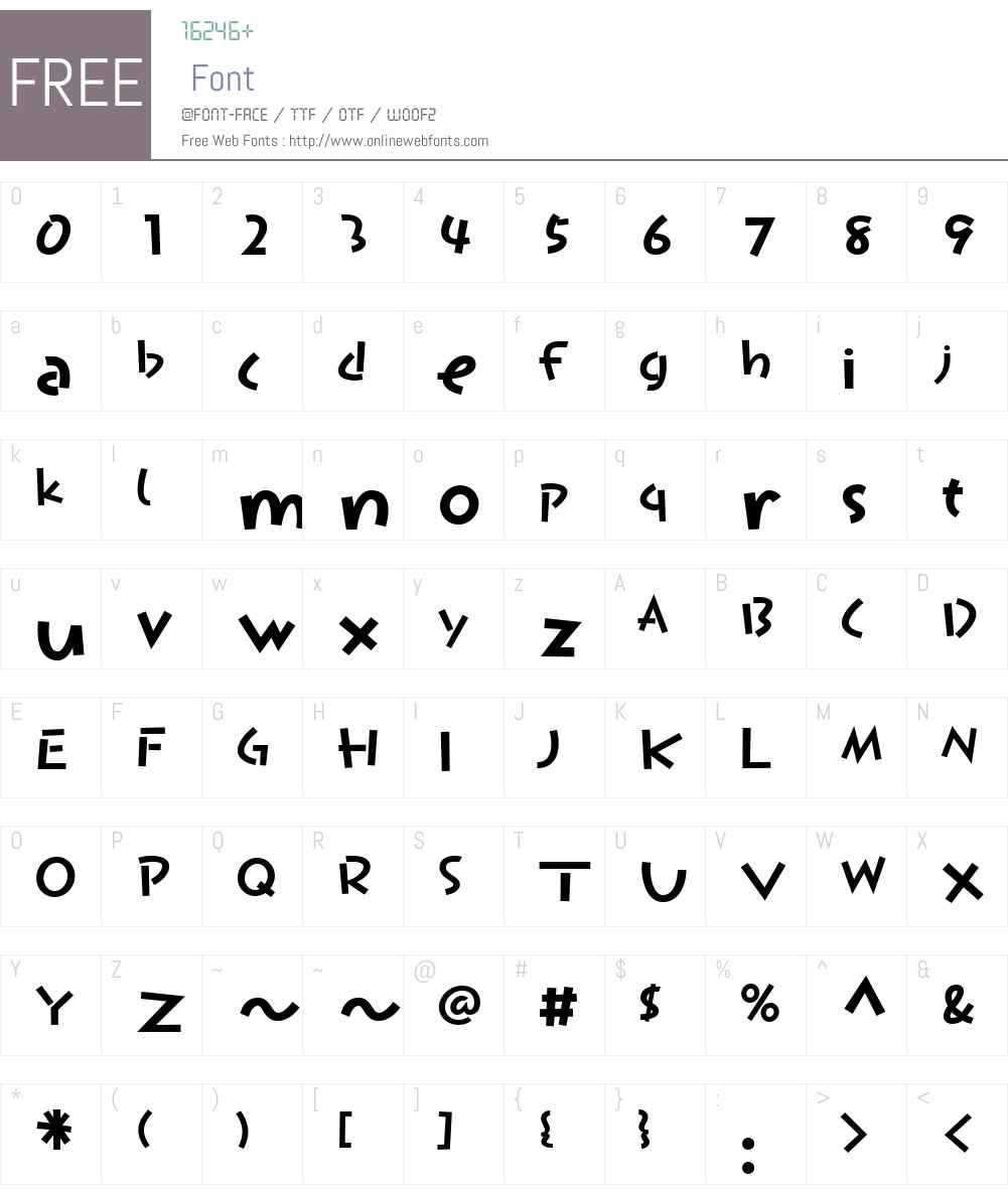 P22KomusubiW01-LatinBold Font Screenshots