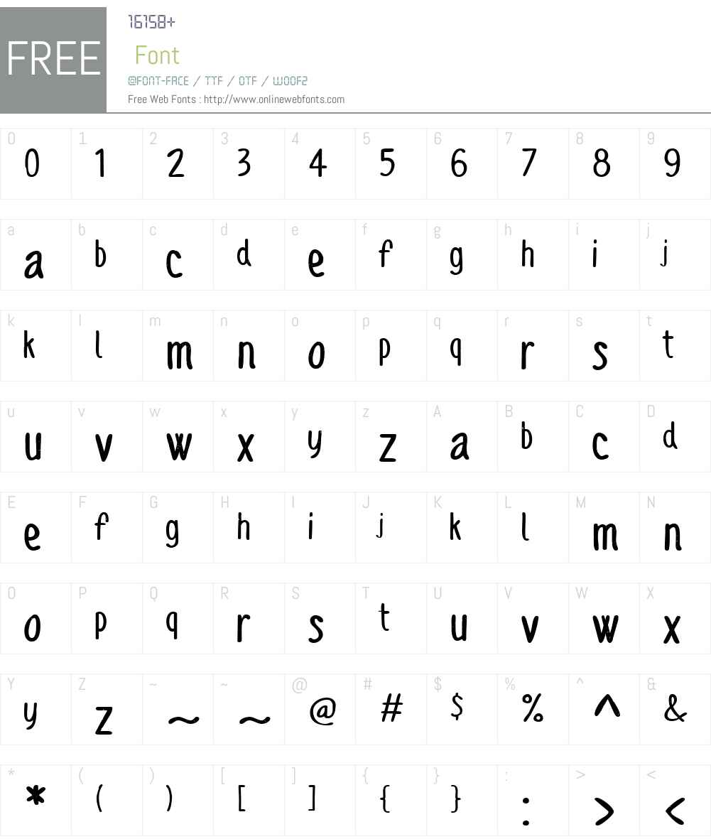 SofiaRoughScriptW01-Bold Font Screenshots