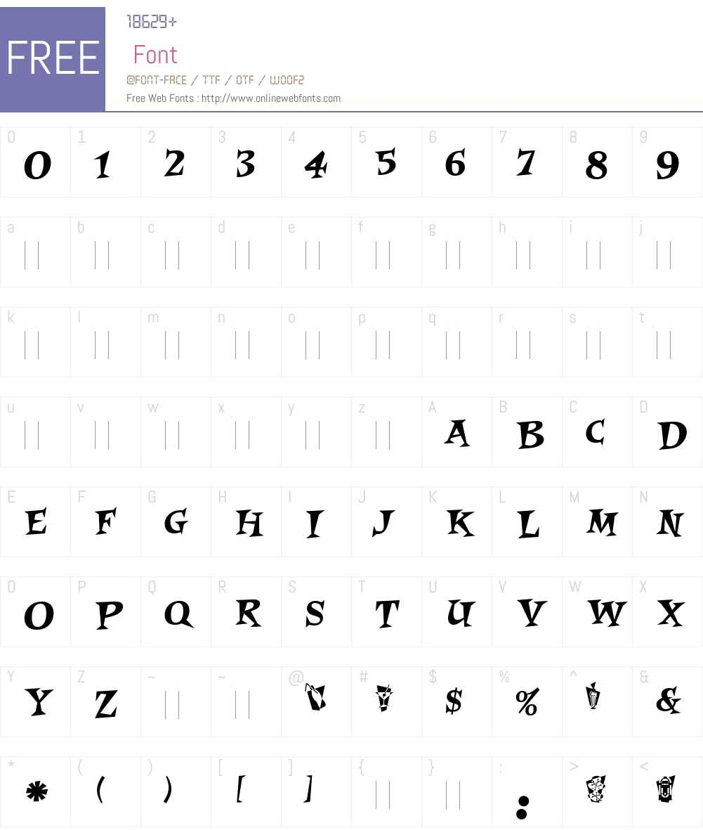 Roquette LET Font Screenshots