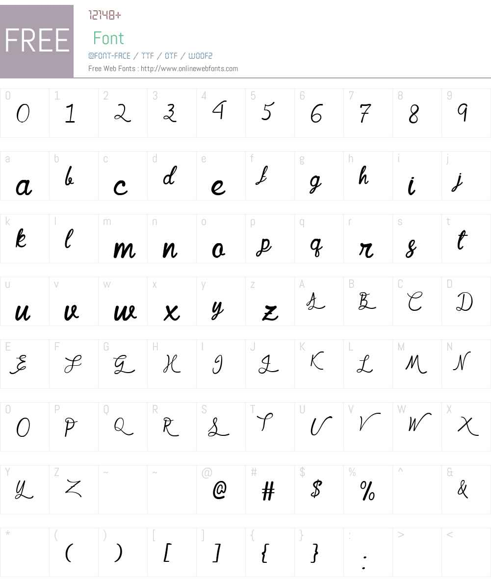 Mf Queen Leela Font Screenshots