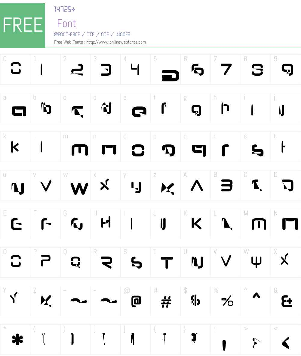 NeuropolNovaW00-CondBold Font Screenshots