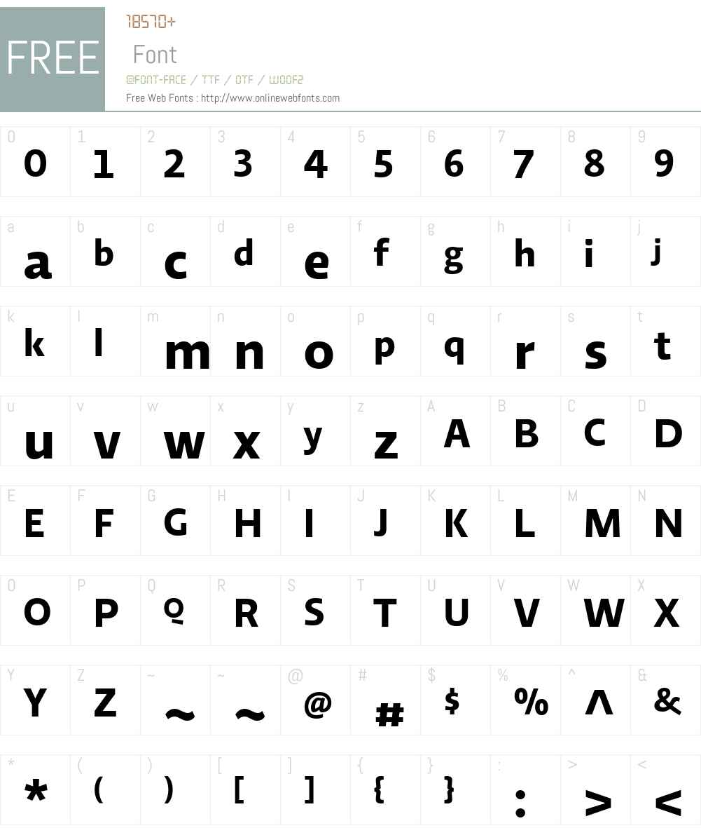 RelatoSansW03-Bold Font Screenshots