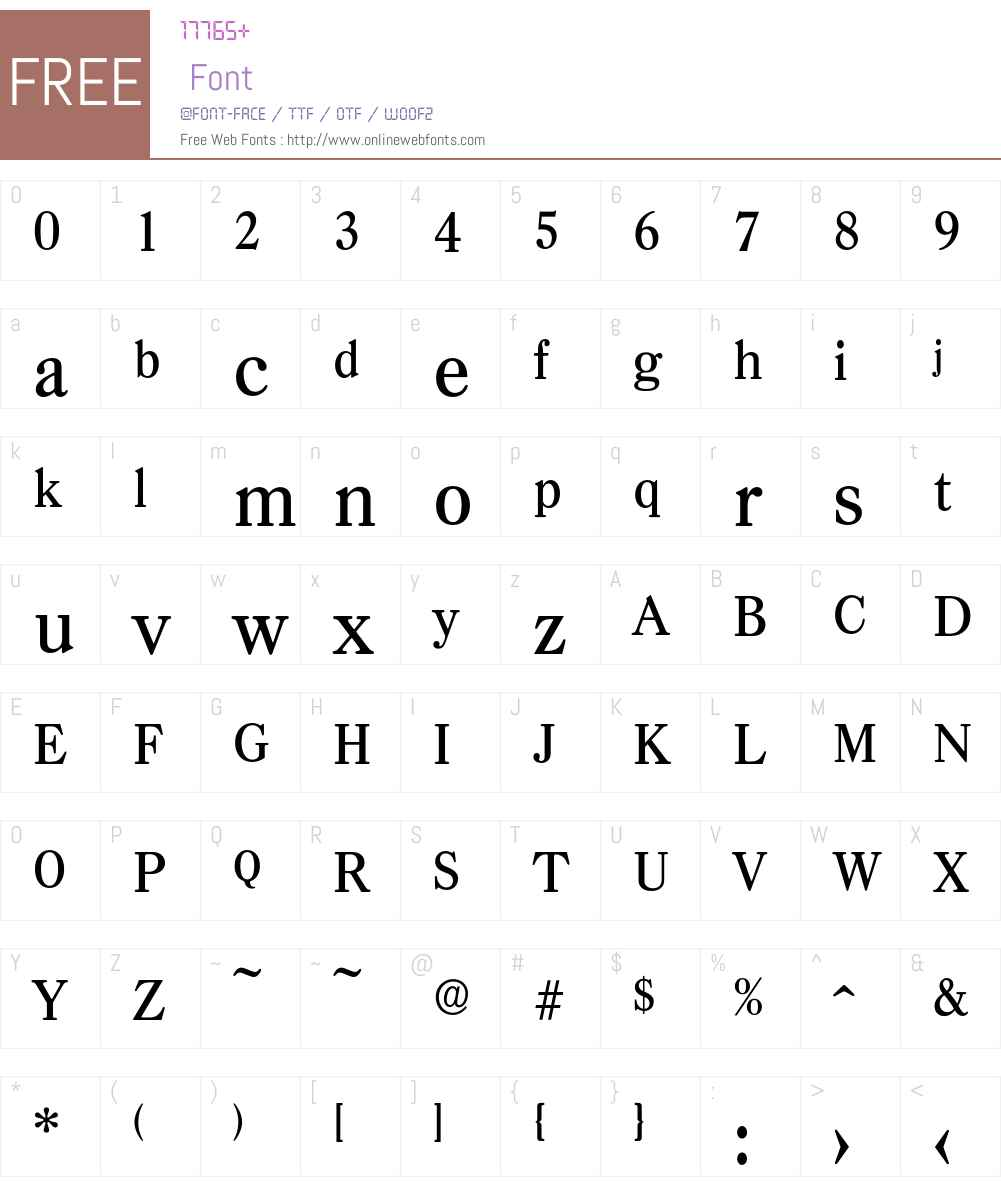 Casad-Medium Font Screenshots