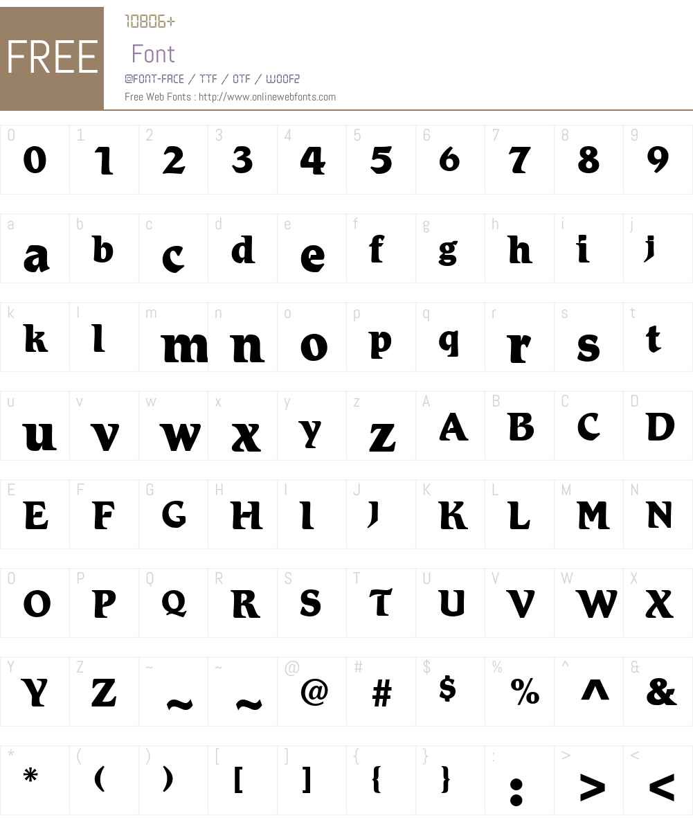 Romic LT Medium Font Screenshots