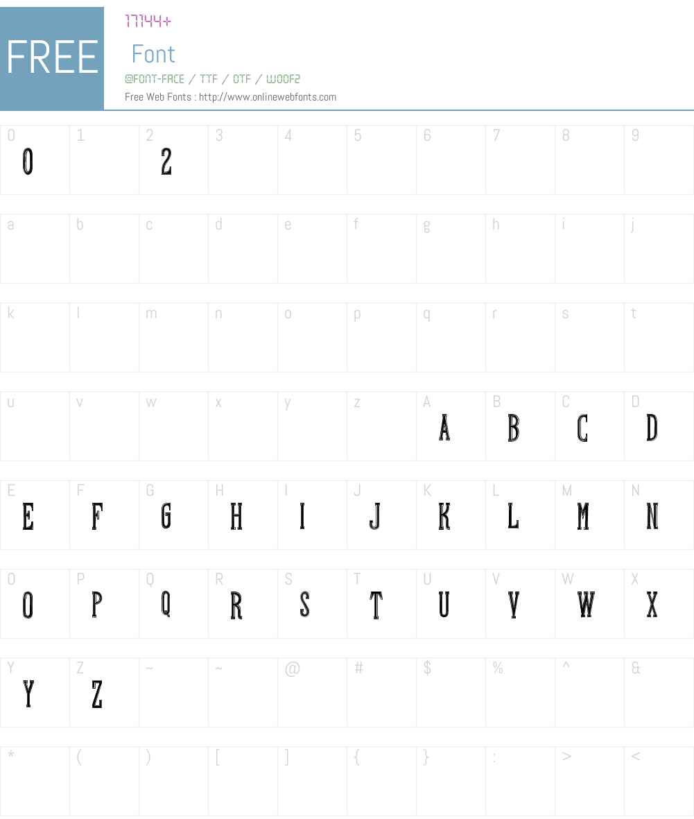 Hand Shop Typography A20_demo Font Screenshots