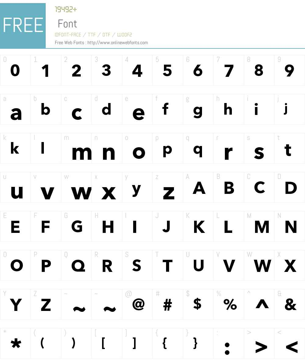 AvenirNextCyrW00-Bold Font Screenshots