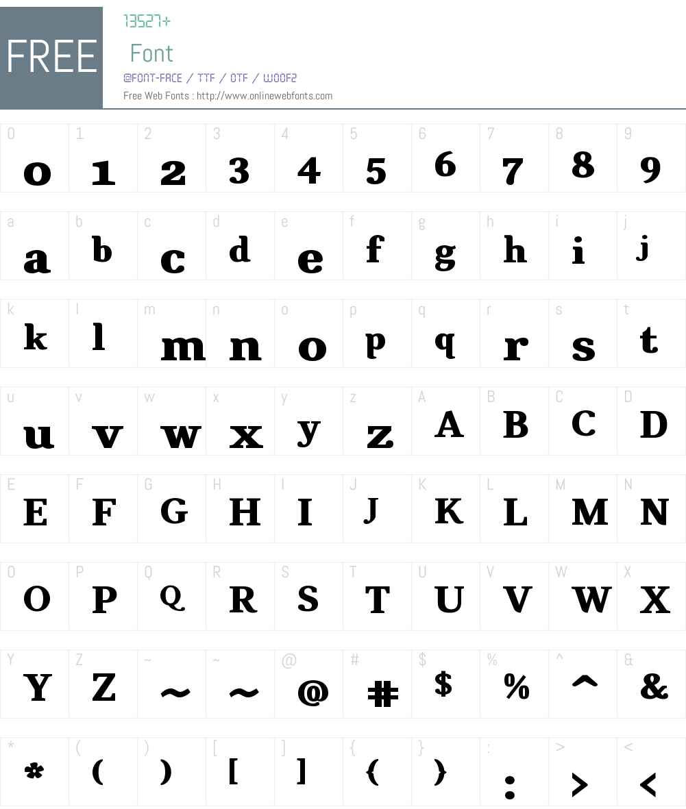 CATexteronW01-Heavy Font Screenshots