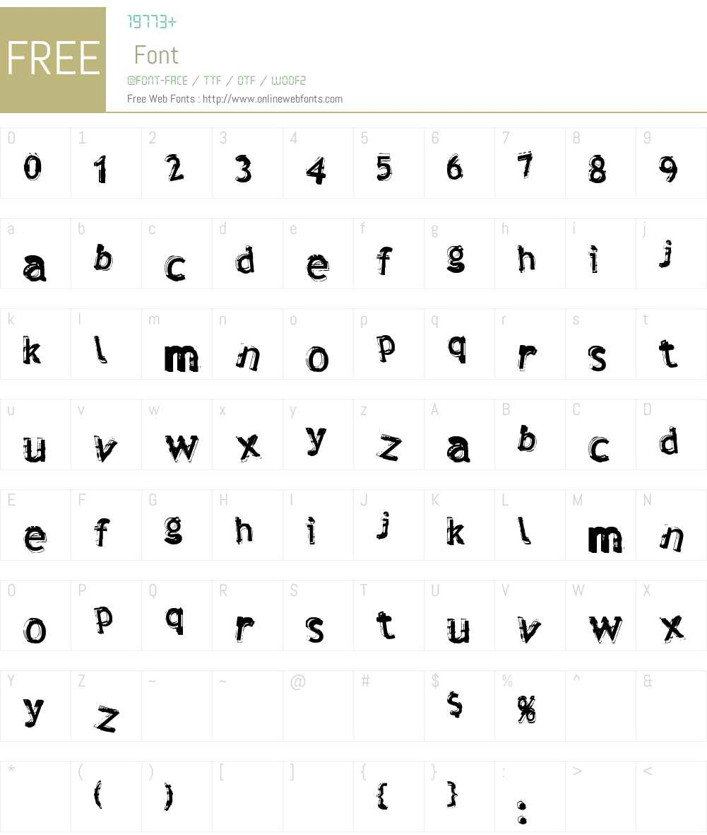 Verdy Font Screenshots