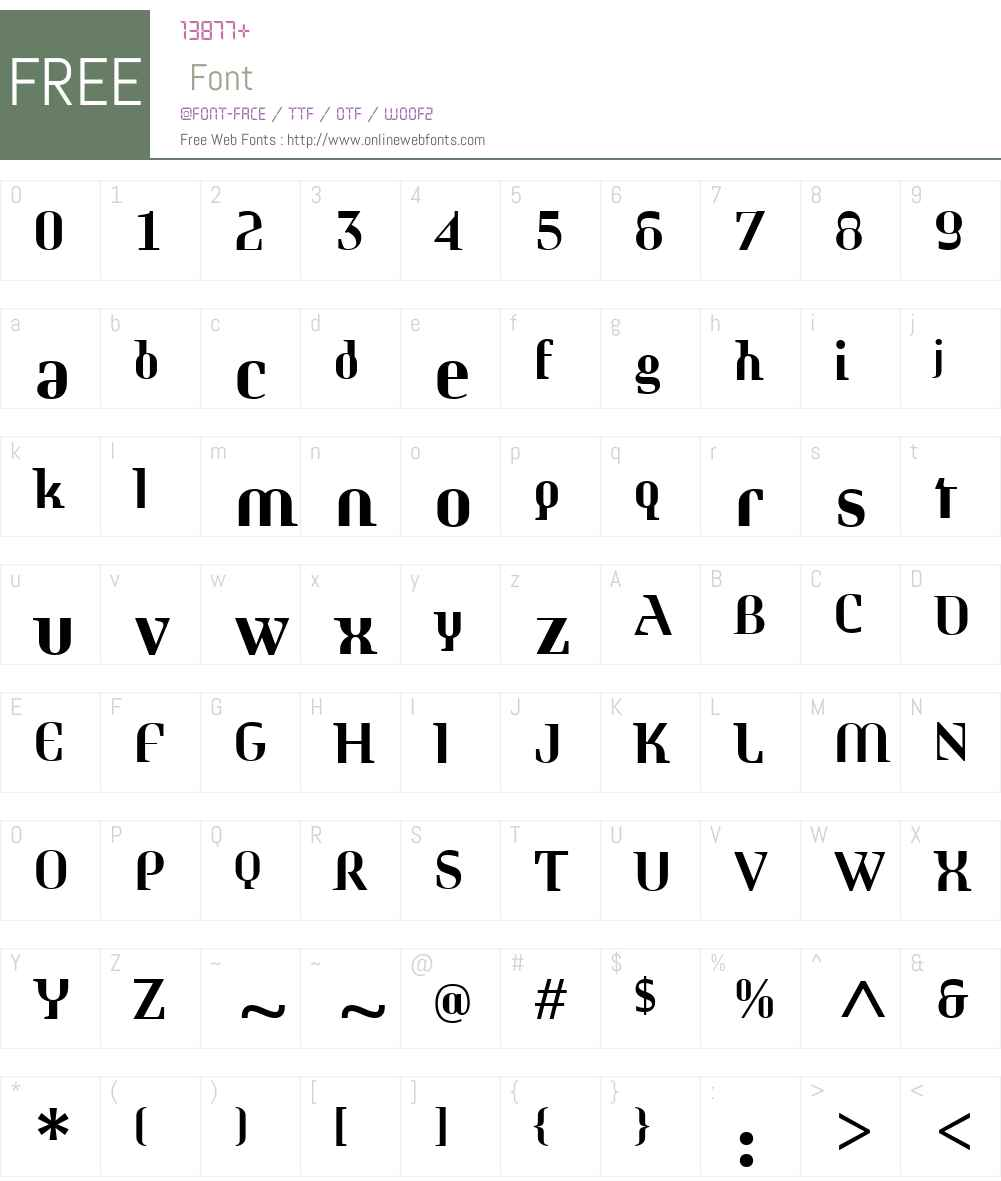 MorphicaW01-Bold Font Screenshots
