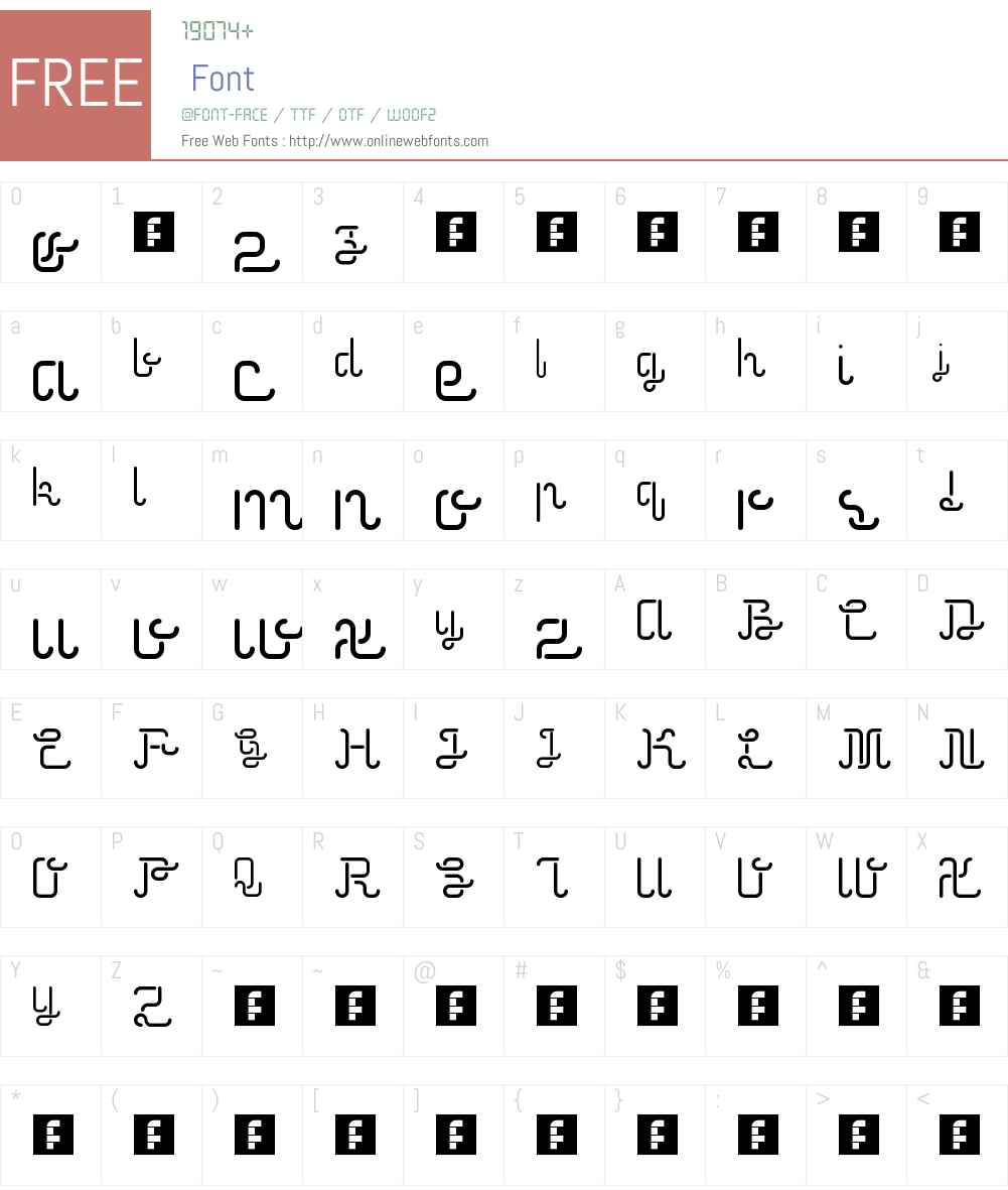 Neonic Font Screenshots