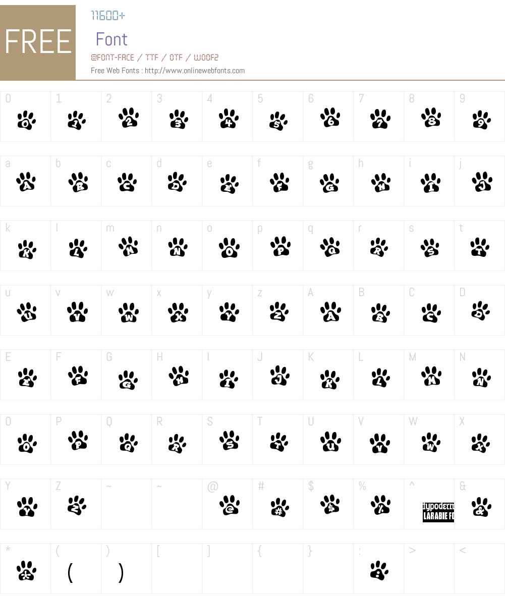Ennobled Pet Font Screenshots