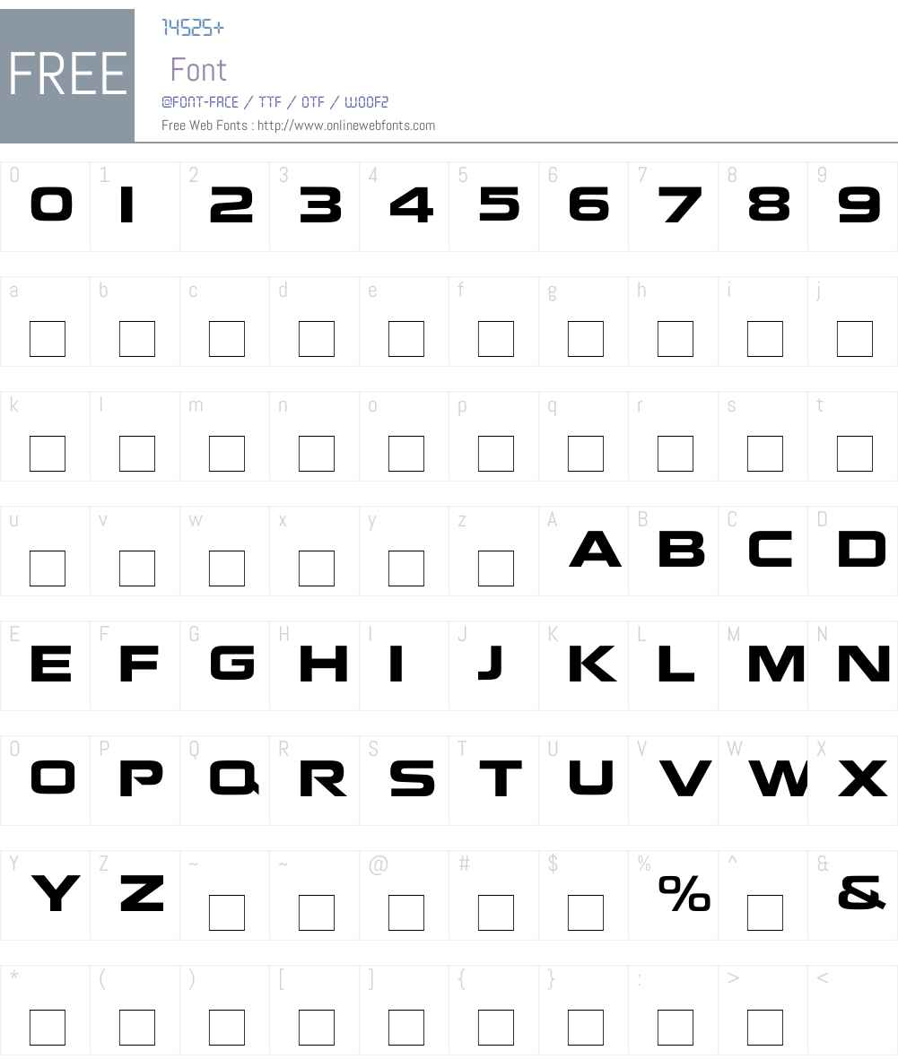 NokianvirallinenkirjasinREGULAR Font Screenshots