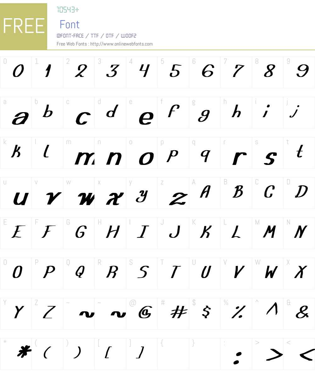 Austera Simple tfb Font Screenshots