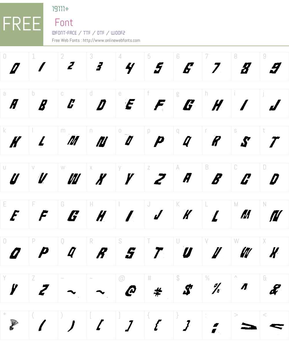 Androidi Pisa Font Screenshots