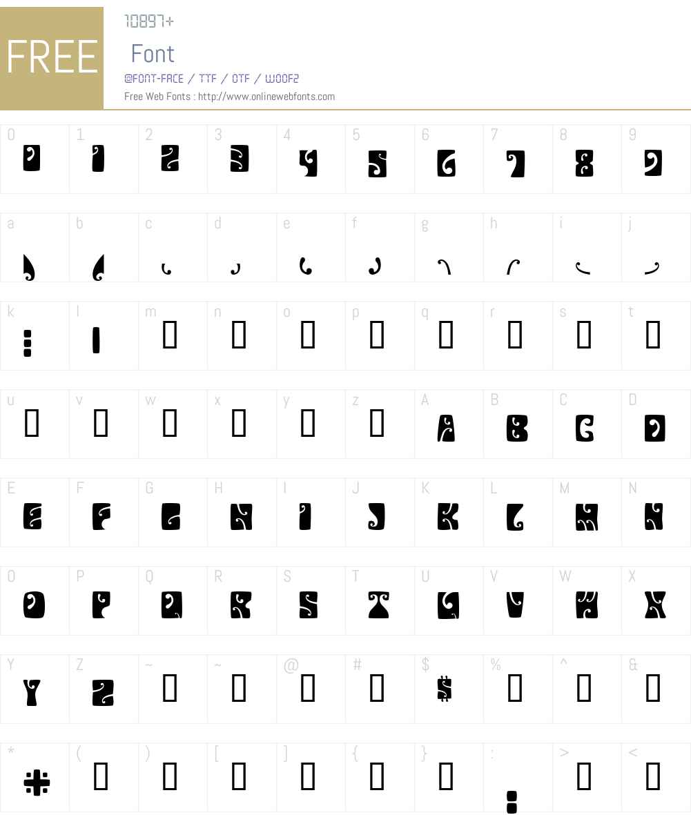Psychedelic Font Screenshots