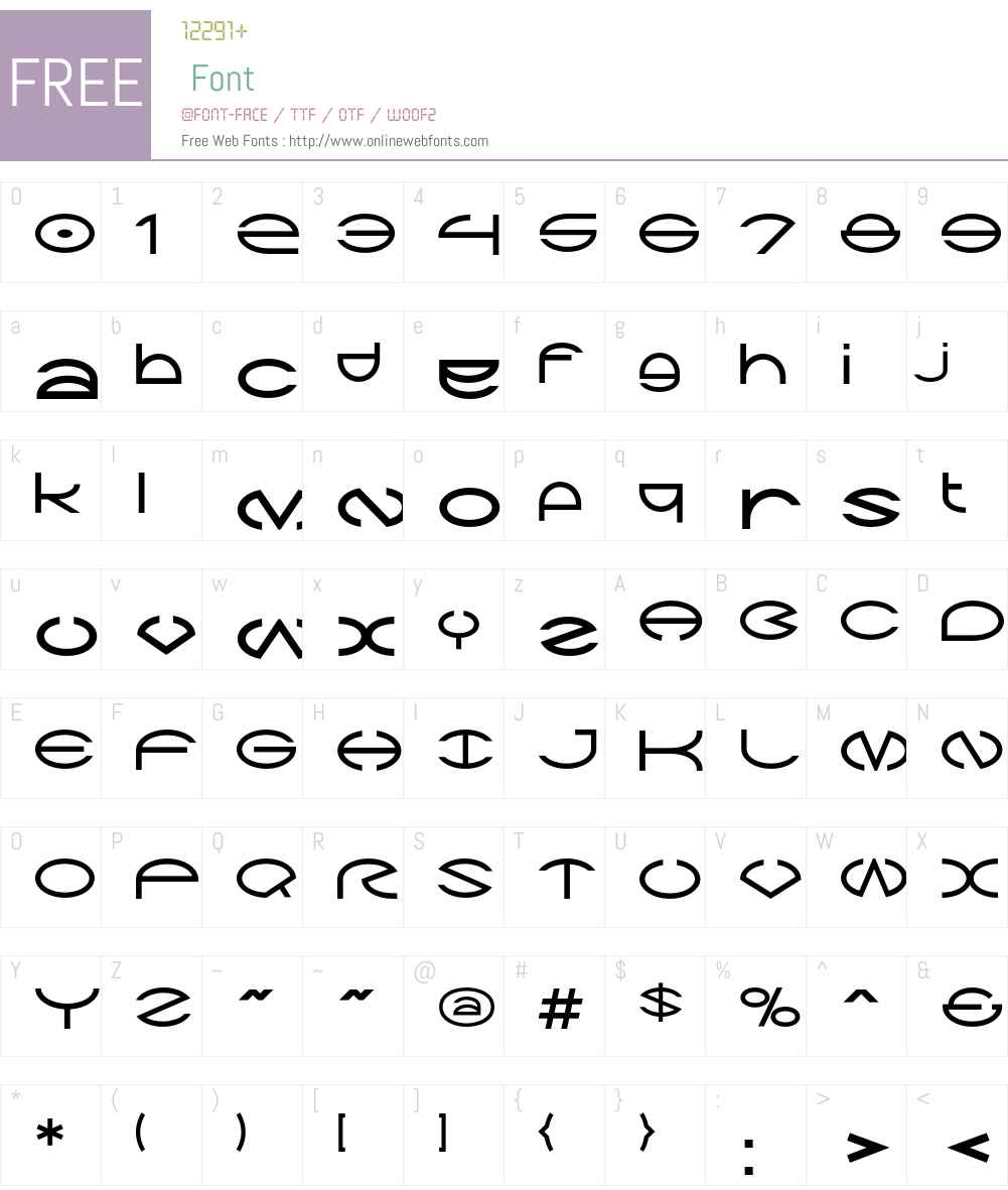Zargon Font Screenshots
