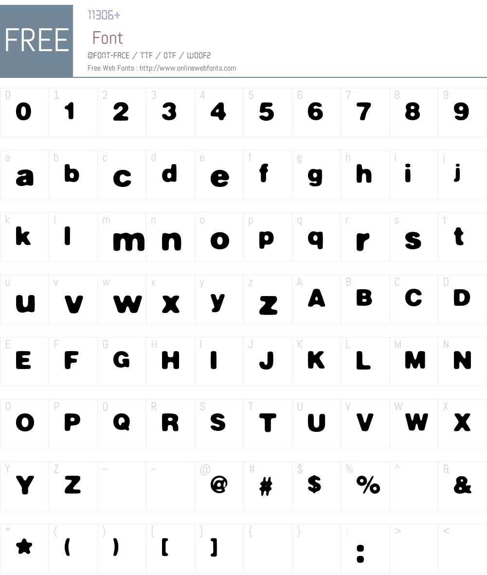 Masterly Font Screenshots