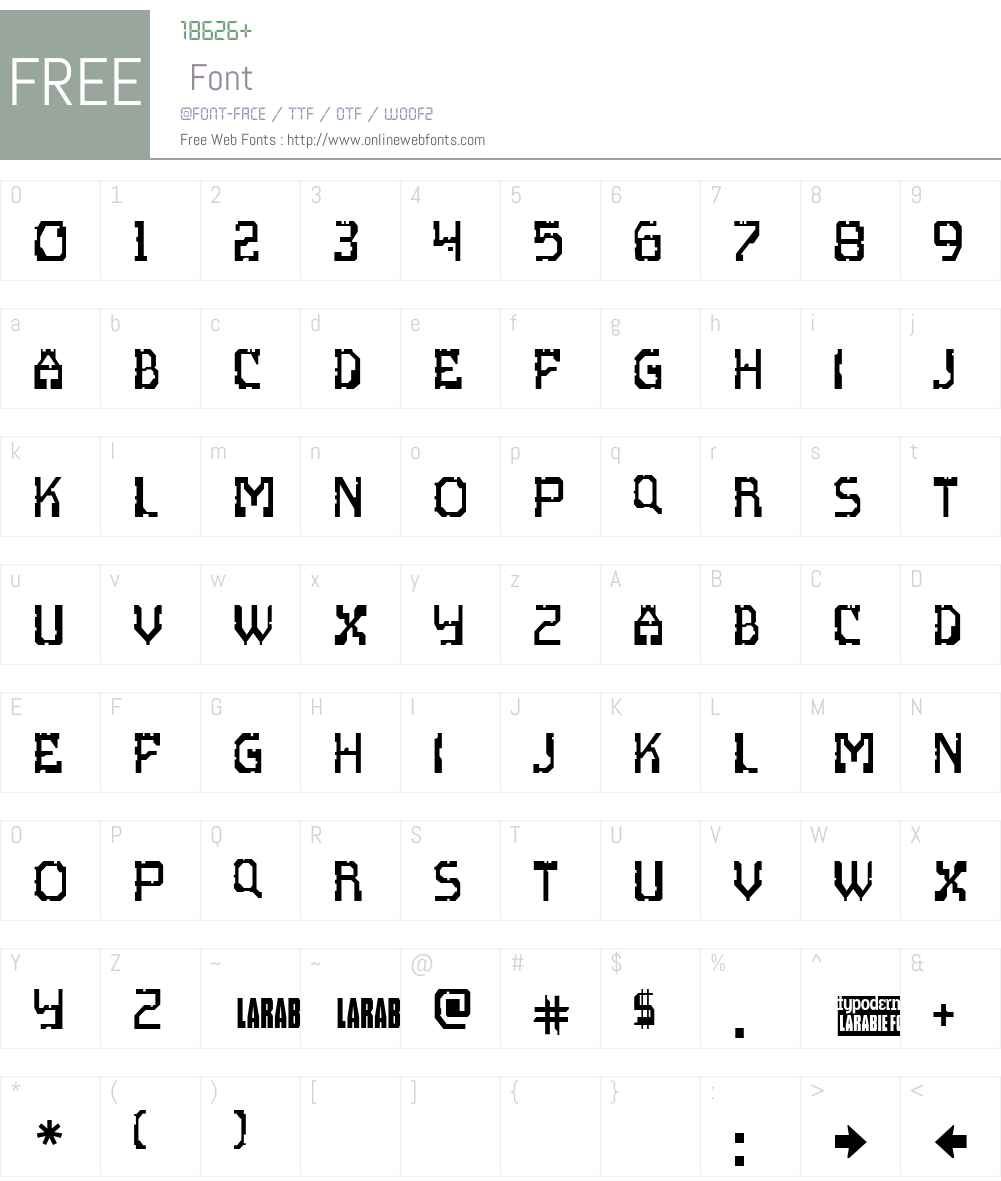 Scritzy X Font Screenshots