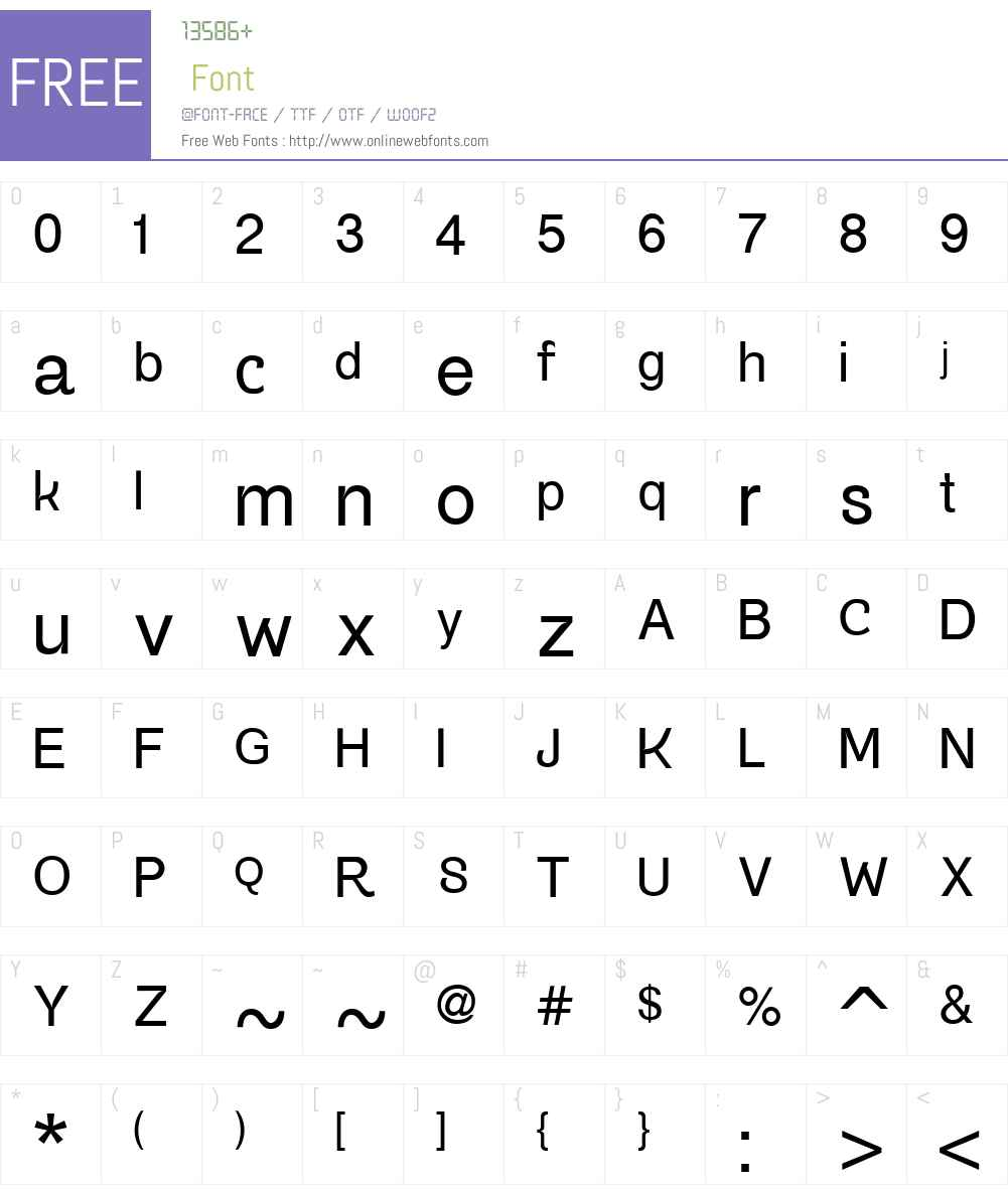 Gogating Book Inktraps Font Screenshots