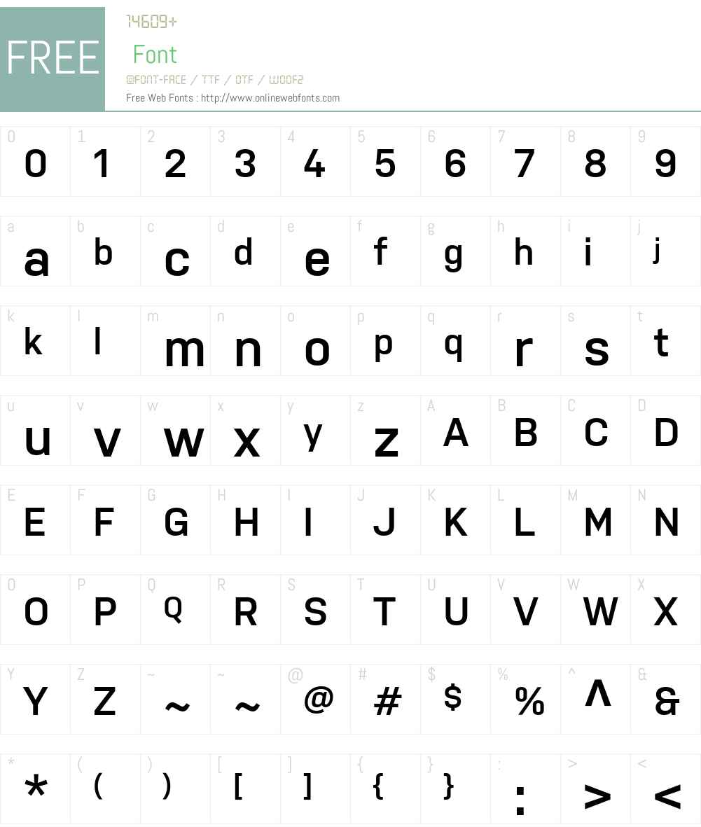 Nudista SemiBold Font Screenshots