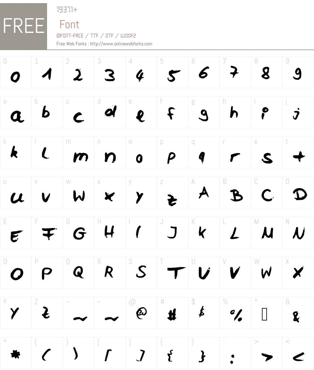 Celi Font Screenshots