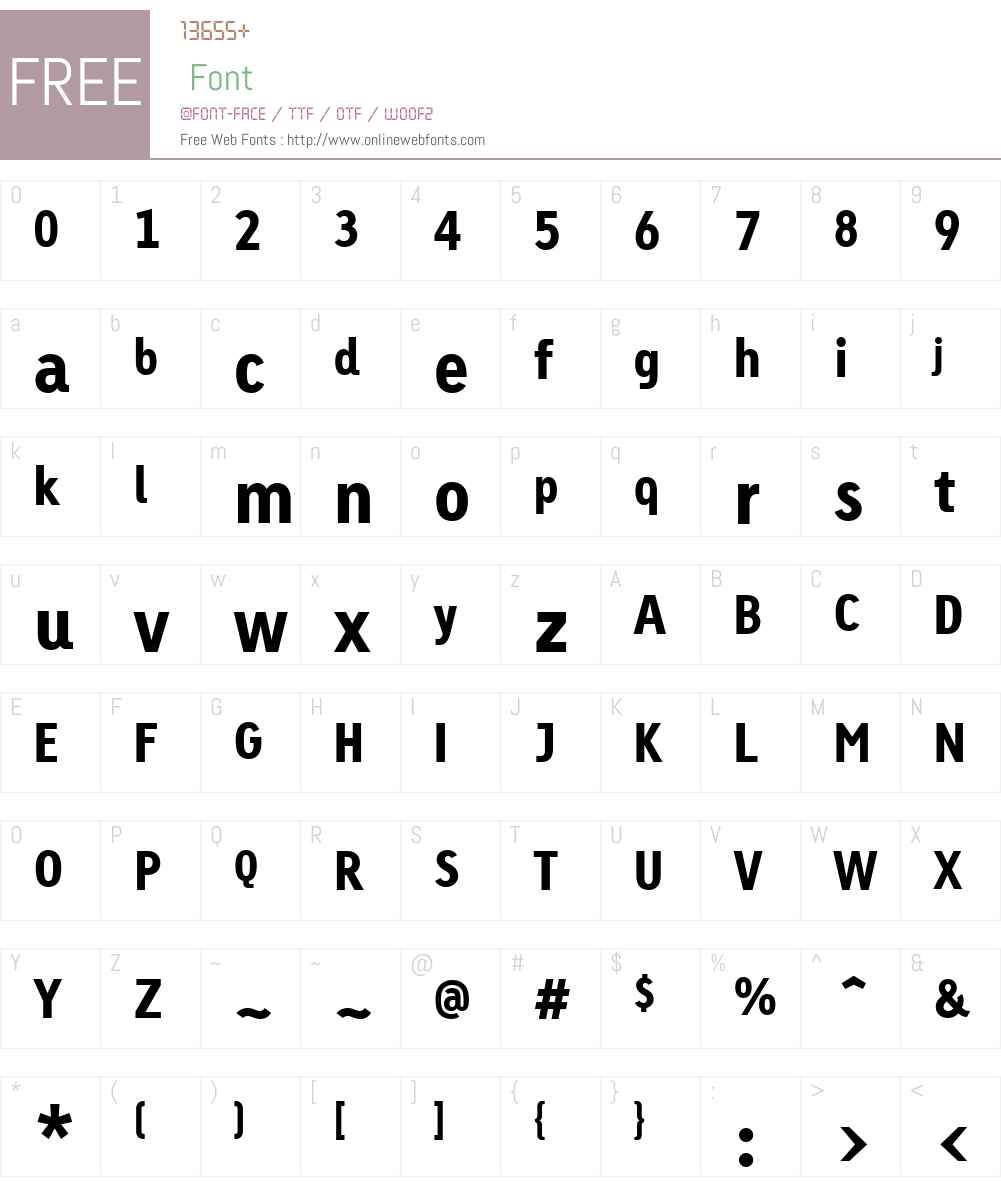 Linotype Tetria Font Screenshots