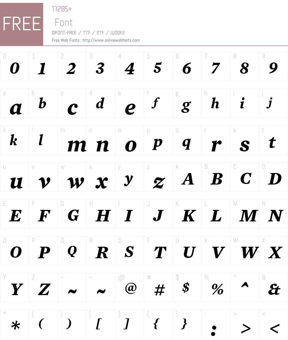 Mercury Text G2 Font Screenshots