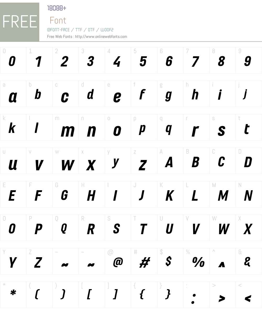 Marianina Extended FY Font Screenshots
