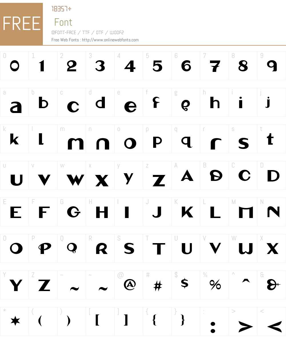 LinotypeMarcuSanW01 Font Screenshots